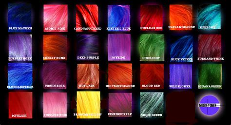 colorists special effects 2 special effects hair dye sfx semi permanent free gloves vegan hairdye all colors ebay