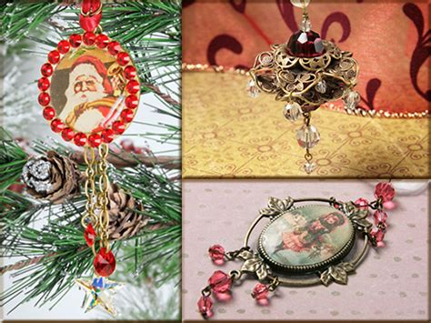 holidays from the heart christmas ornaments artbeads blog