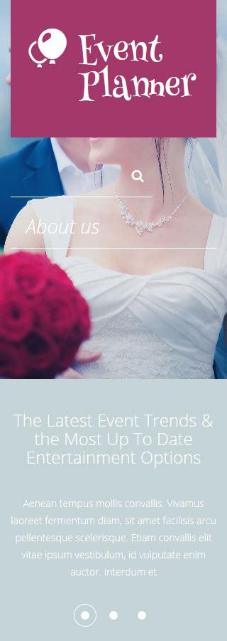drupal themes wedding wedding planner drupal template