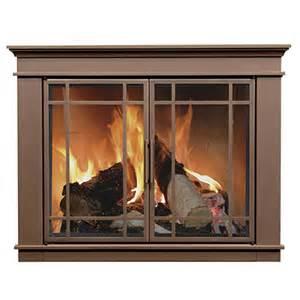 fireplace doors hamilton fireplace glass door bronze woodlanddirect fireplace doors residential retreat