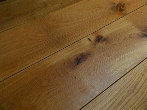 Engineered Oak Flooring Fumed Engineered Character Oak Flooring 185mm X 20mm