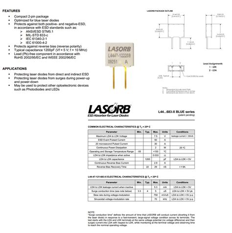 laser diode esd protection esd laser diode 28 images electrostatic discharge esd protection for a laser diode ignited