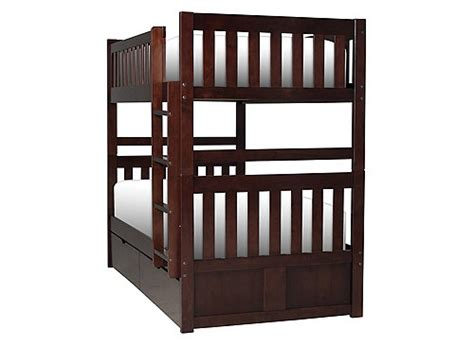 raymour and flanigan bunk beds belisar twin over twin storage bunk bed cherry raymour