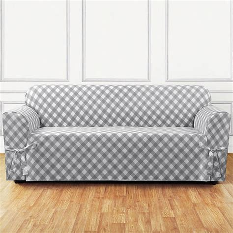 grey check sofa buffalo check slipcover sofa grey out of stock gallery
