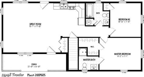 24 X 36 Floor Plans 24 X 48 Including 6 X 22 Porch 2 26 X 48 House Plans