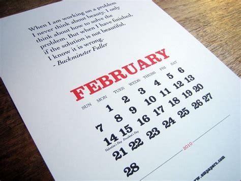 Cool Calendars Inspired Designer Cool Calendars
