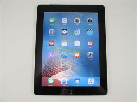 Tablet Apple A1396 apple 2nd 64gb mc775ll a a1396 9 7 wi fi 3g silver tablet ios 9 3 5 ebay