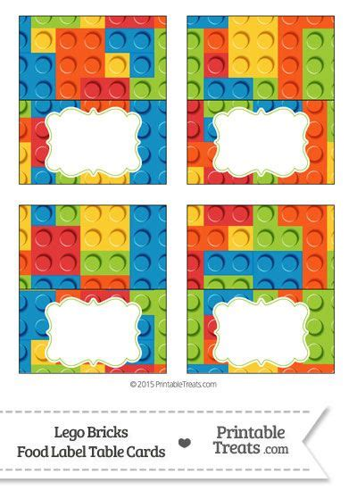printable lego tags lego bricks food labels from printabletreats com lego