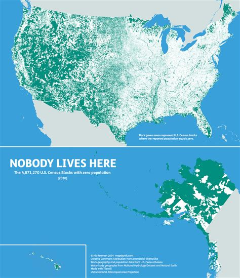 all the map true heroes of lives of musician series books mapsbynik nobody lives here the nearly 5 million census