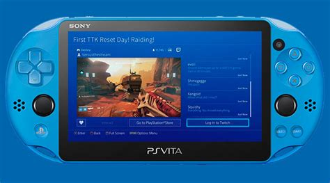 ps vita apps twitch viewing app coming to ps vita handheld players