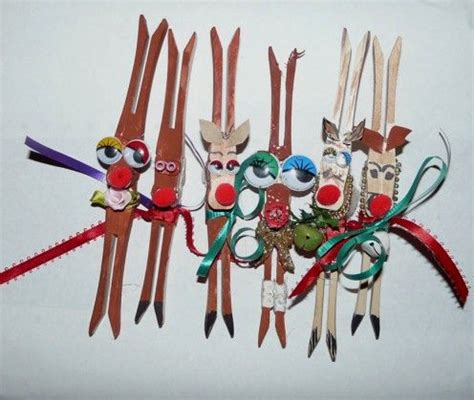 13 best images about clothespin christmas krafts on
