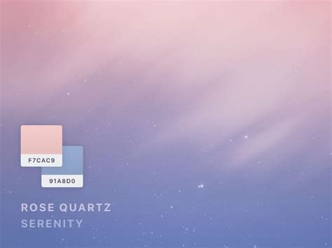 what is the color of 2016 41 best images about rose quartz serenity on pinterest