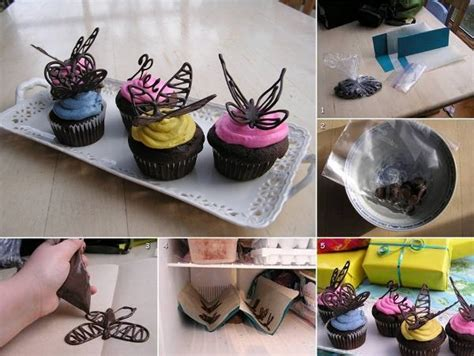 Chocolate Butterfly Decorations by Chocolate Butterfly Cake Decorations 2 Home Design