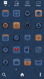 theme line apk download download blue jean line launcher theme apk on pc