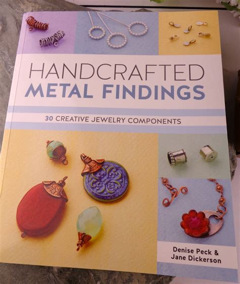 Handcrafted Metals - my jewelry my book review handcrafted