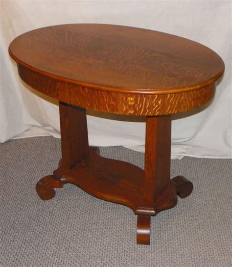 Antique Library Table Desk by Bargain S Antiques 187 Archive Antique Oak Oval