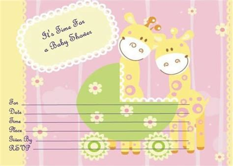 baby dresser card template how to make an invitation on word with free templates