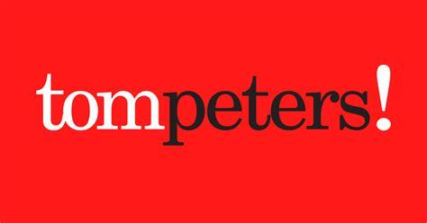 Tom Peters Mba by Manifestos Tom Peters