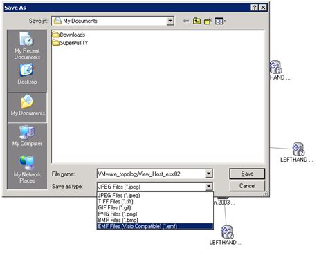 storage visio exporting the storage map in the vsphere ui to visio