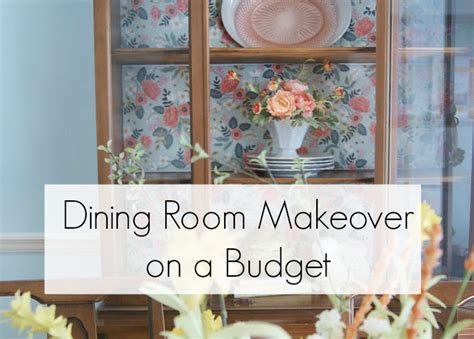 Dining Room Decor On A Budget by Dining Room Makeover Ideas On A Budget 3 Greenwoods