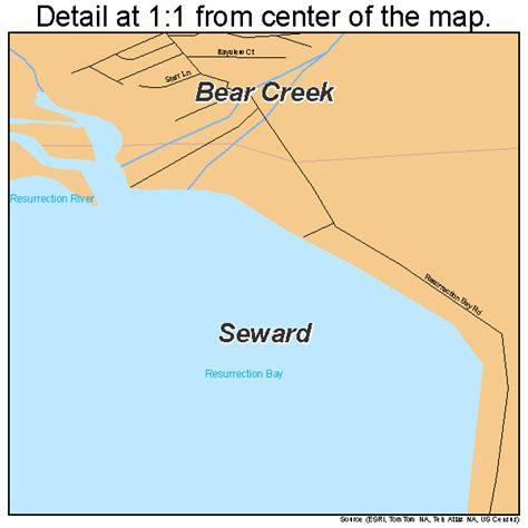 us map seward alaska seward alaska map 0268560