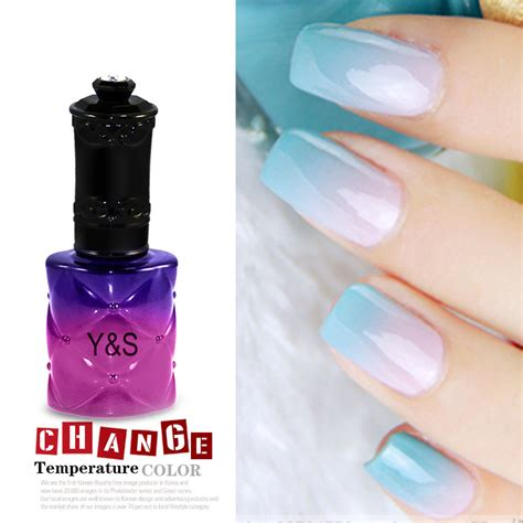 chagne pink color 15ml temperature change color gel nail soak