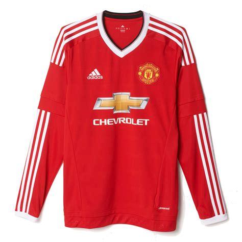 Setelan Jersey Manchester United Mu Gk Longslseve Ls 2017 2018 adidas manchester united home ls jersey wegotsoccer