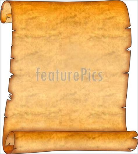 ancient scroll template photo of blank ancient scroll