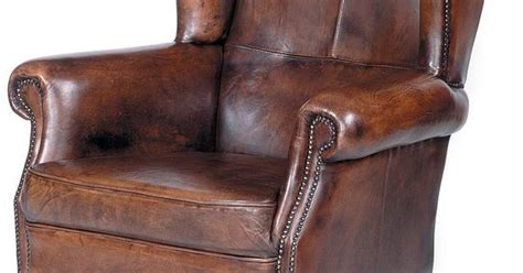 traditional leather wingback chair traditional wing back leather chair w nailhead trim wood