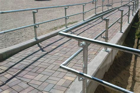 Handicap Stair Rail Safety Railing Solutions For Diverse Environments Fall