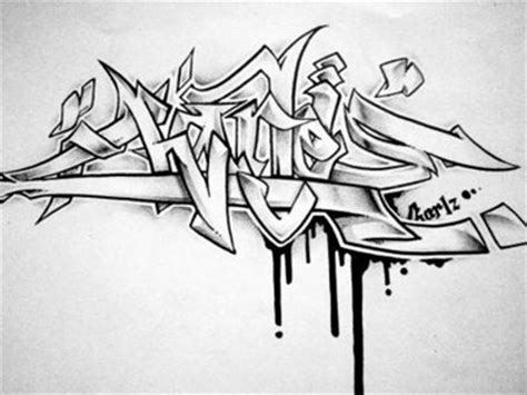 sketchbook kertas hitam 150 contoh gambar grafiti tulisan nama a sai z keren