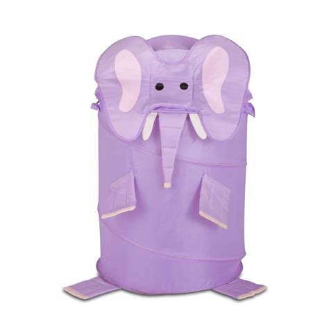 Honey Can Do Large Kids Pop Up Laundry Her Elephant Hmp Elephant Laundry