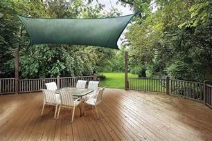 Triangle Awning How To Add Shade To Your Deck