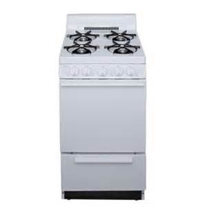 home depot gas range premier 20 in 2 42 cu ft gas range in white sak100op