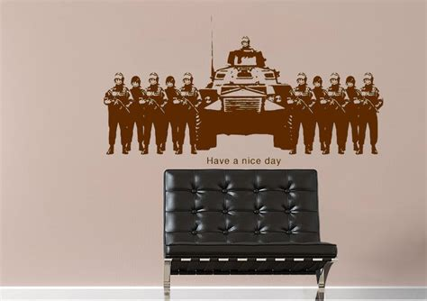 banksy wall stickers uk a day lime banksy wall stickers adhesive wall