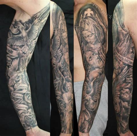 tattoo sleeve designs religious 19 best tattoos images on ideas arm