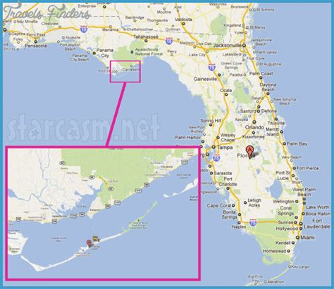 map of st island map of st george island florida my
