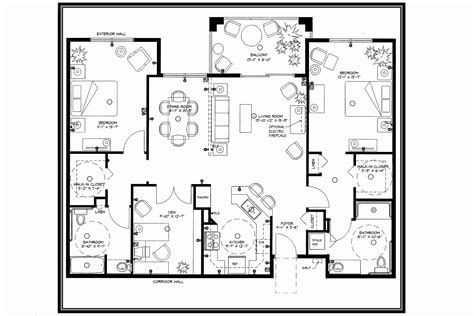 beautiful floor plans retirement house plans beautiful house plan nursing homes