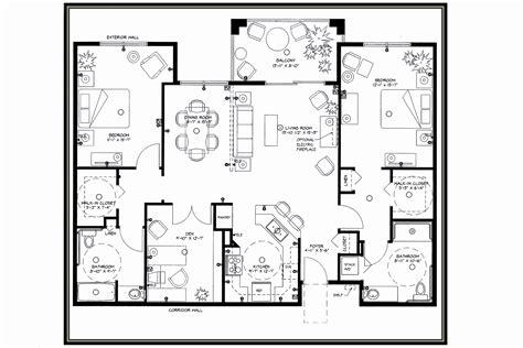 house plans for seniors retirement house plans beautiful house plan nursing homes