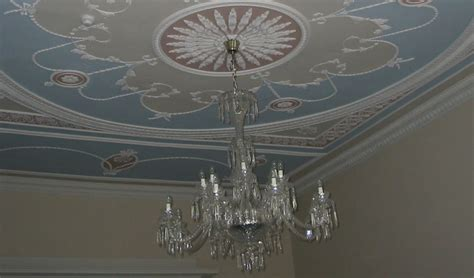 adam style ceilings in the adam style david fisher sons edinburgh