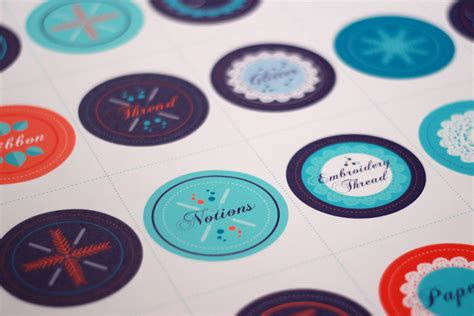 Fnd Labels Ori january refresh jar decal labels spoonflower