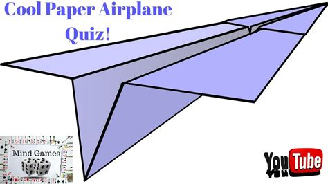 How To Make A Cool Easy Paper Airplane - cool paper airplane quiz my crafts and diy projects