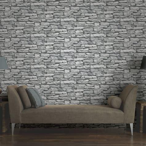 wallpaper for walls uk arthouse vip moroccan stone wall brick photographic
