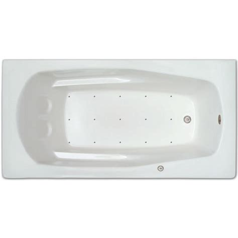 5 1 2 ft right drain drop in rectangular whirlpool and
