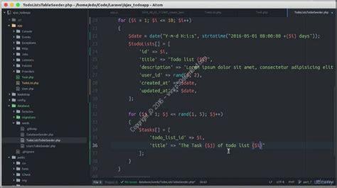 laravel tutorial lynda bootstrap training free beginner phpsourcecode net