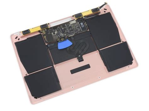 Apple Macbook Retina Display Gold Notebook 12inch 256gb new 12 inch retina macbook gets taken apart by ifixit