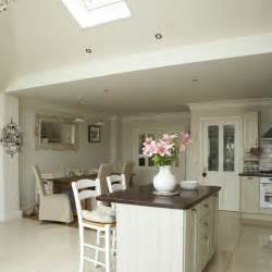 open plan neutral kitchen kitchen diners housetohome co uk