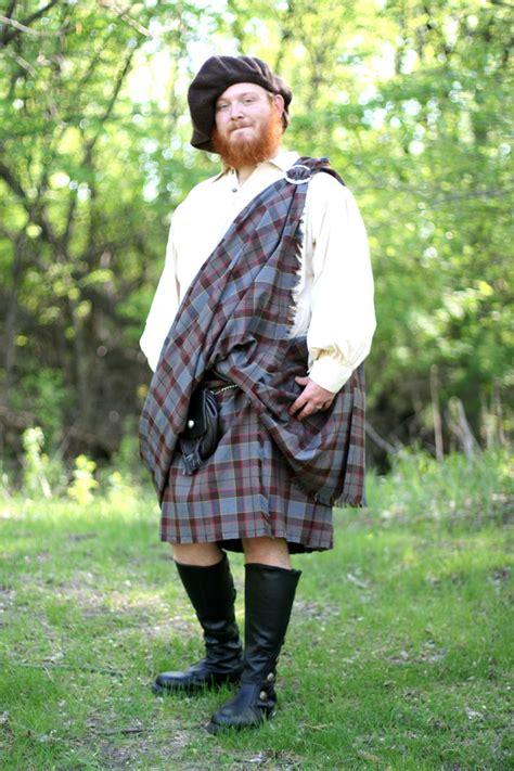 outlander great kilt poly viscose tartan