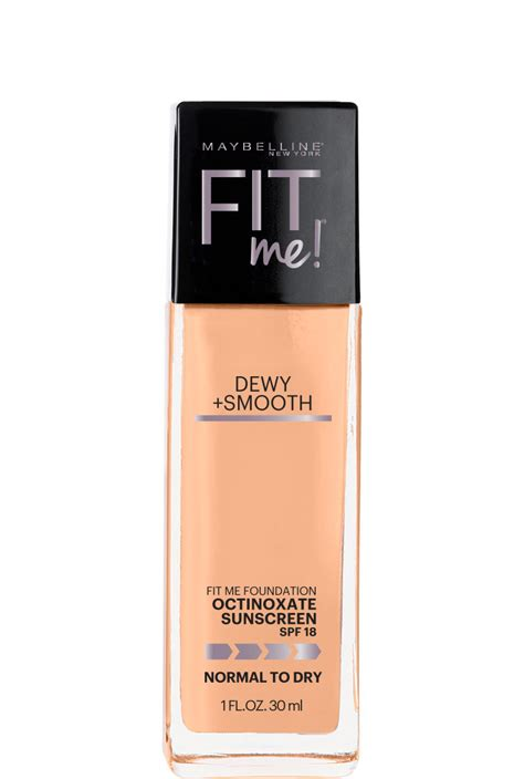 Fit Me Foundation Dewy Maybelline fit me dewy smooth foundation foundation for skin maybelline