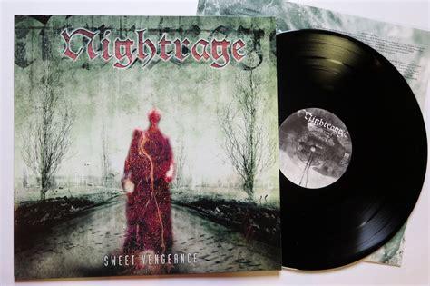 Cd Nightrage Sweet Vengeance 1 Obi popsike nightrage sweet vengeance lp 1 press melodic metal in flames arch enemy